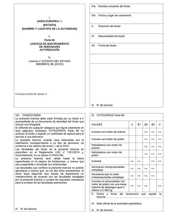 Reglamento (UE) nº 1321/2014 de la Comisión, de 26 de noviembre de ...