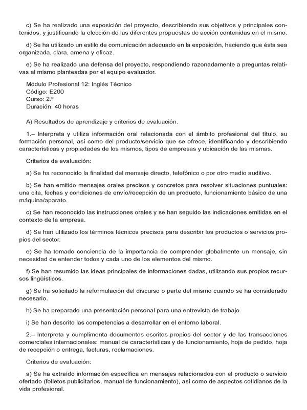 Decreto 70/2015, de 19 de mayo, por el que se establece el currículo ...