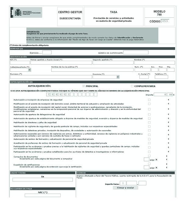 Tasa 012 modelo 790 precio - Modelo 790 codigo 012 ministerio interior pdf ...