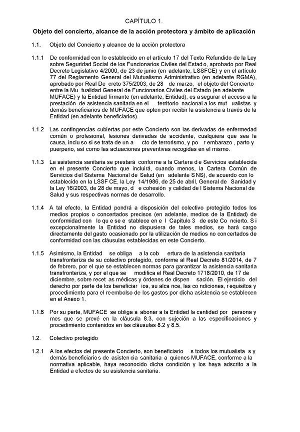 Resolución de 18 de diciembre de 2014, de la Mutualidad General de ...