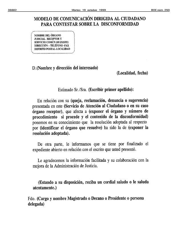 Acuerdo de 22 de septiembre de 1999, del Pleno del Consejo General ...