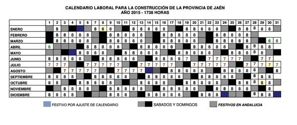 Calendario Laboral Jaen 2020.Resolucion De 17 De Marzo De 2015 De La Oficina Territorial De Jaen