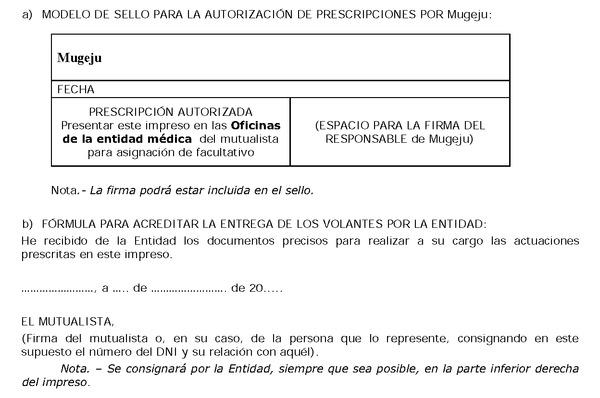 Resolucin de 23 de diciembre de 2013 de la mutualidad for Oficina sanitas valencia