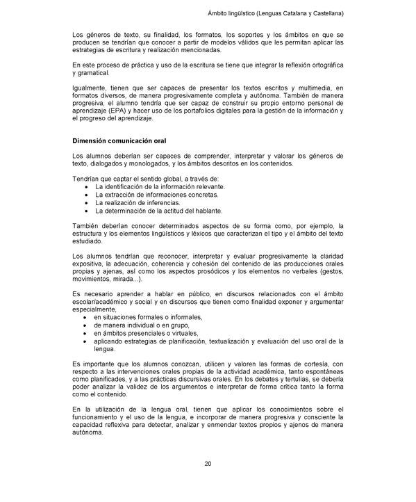 Decreto 187/2015, de 25 de agosto, de ordenación de las enseñanzas ...