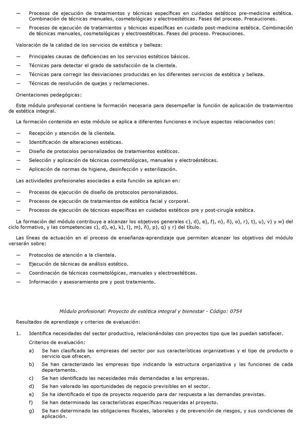 Decreto 6 2014 De 28 De Enero Por El Que Se Establece El