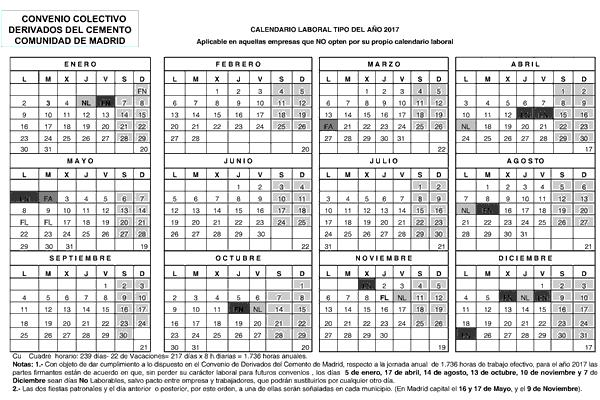 Calendario Laboral 2020 Madrid Ugt.Resolucion De 3 De Agosto De 2018 De La Direccion General De