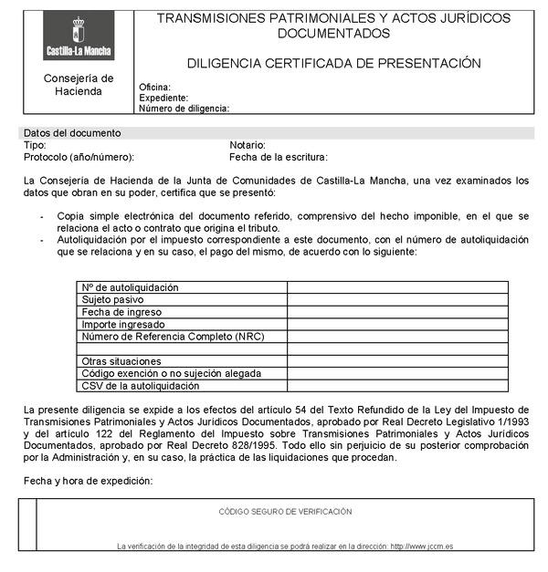 Modelo de transmisiones patrimoniales andalucia orden de for Oficina virtual de la agencia tributaria