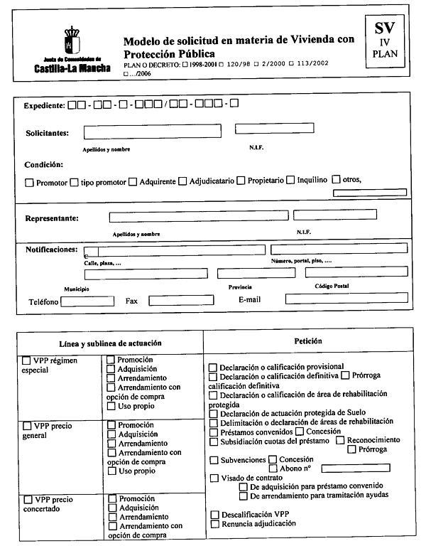 Decreto 38 06 de 11 04 2006 del consejo de gobierno por for Modelo demanda clausula suelo