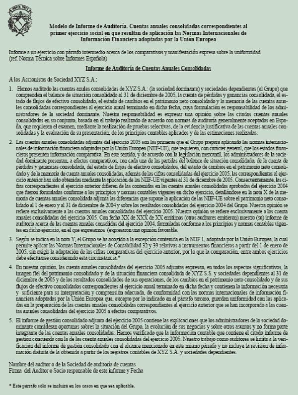 Informe Auditoria Interna Ejemplo Informe Auditoria Interna