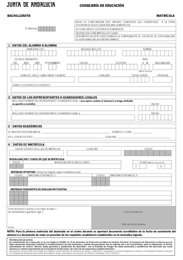 Orden de 24 de febrero de 2011 por la que se desarrolla for Consejeria de educacion junta de andalucia
