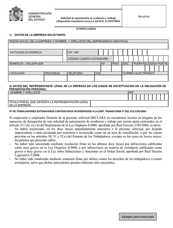 Orden PRE/140/2005, de 2 de febrero, por la que se desarrolla el ...