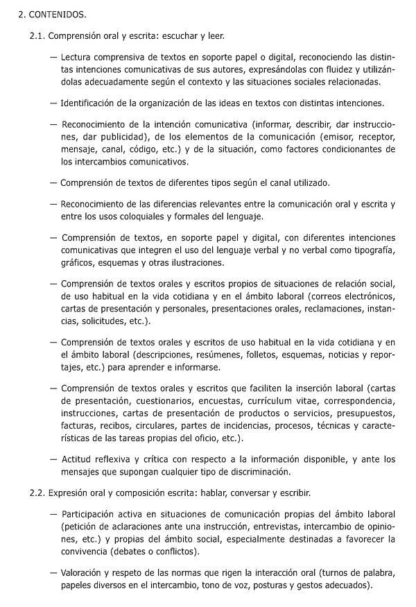 Orden de 18 de junio de 2008 por la que se regulan los Programas de ...