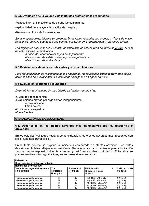 Moderno Plantilla De Informe De Evaluación Molde - Colección De ...