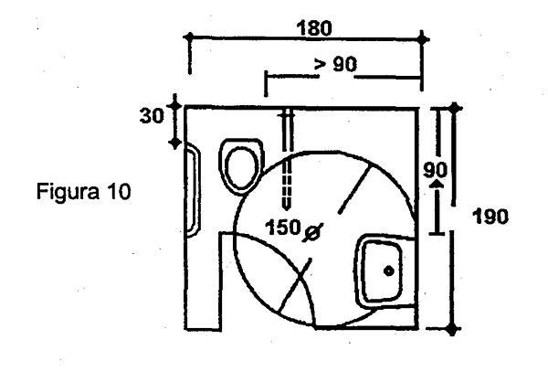 Medidas ba o silla de ruedas for Medidas aseo minusvalidos
