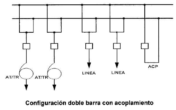 diagrama unifilar de un autotransformador