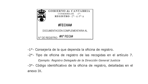 Decreto 37 2012 de 13 de julio por el que se regulan el for Oficina registro comunidad de madrid