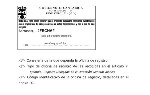 Decreto 37 2012 de 13 de julio por el que se regulan el for Oficinas de registro de la comunidad de madrid