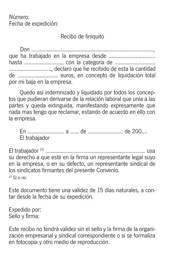 Modelo De Finiquito Laboral Guatemala Resolucin De 3 De