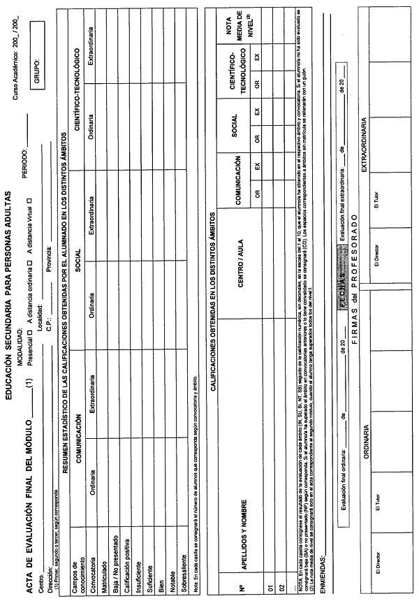Orden de 12-06-2008, de la Consejería de Educación y Ciencia, por la ...